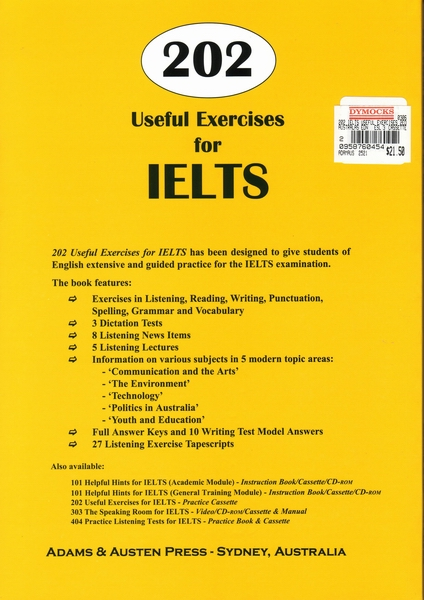 writing exercises for ielts To get the maximum benefit for your ielts writing test, you need to use reading as a source for focused writing activities.